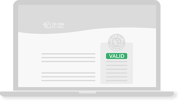 Illustration Tiny Living Alliance valid company page