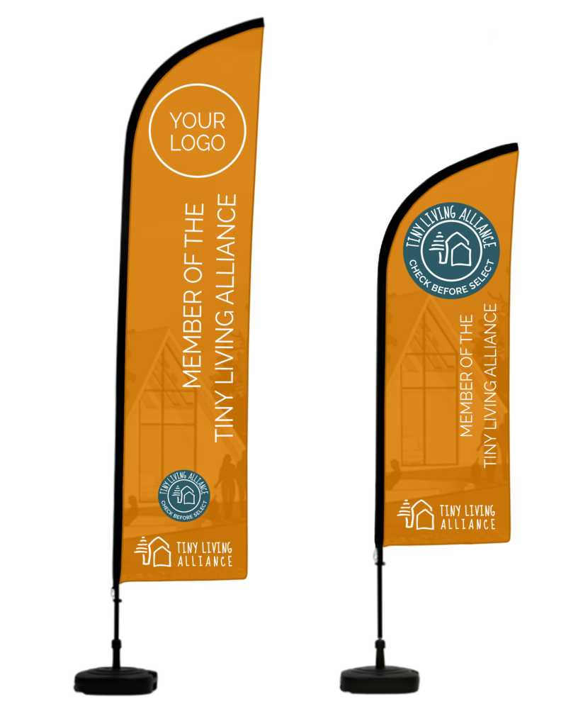 Tiny Living Alliance bow banner
