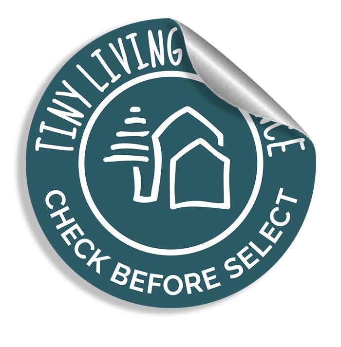 Tiny Living Alliance Trust Badge sticker